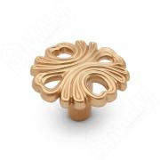 WPO.829.000.00R8 Ручка-кнопка золото матовое Милан