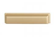 WMN.831X.096.M00F3 Ручка-ракушка 96мм, отделка золото матовое