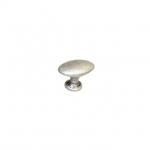 Ручка-кнопка, отделка серебро античное 10.801.B17