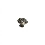 Ручка-кнопка, отделка старое серебро с блеском WPO.2028Y.30.M00E8