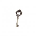 Ключ, отделка старое серебро с блеском WCH.302042.00E8