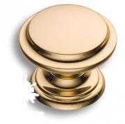 8462-100 Ручка кнопка, глянцевое золото