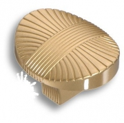8491-200 Ручка кнопка, матовое золото