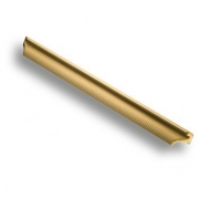 8610 0384 AGLB Ручка скоба, матовое золото 384 мм