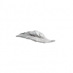 Ручка-скоба 64мм, отделка серебро 15078Z064D0.78