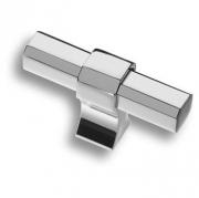 8720 0008 CR-CR Ручка кнопка, глянцевый хром