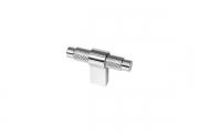 SY8772 0008 CR-CR Ручка-кнопка, отделка хром глянец