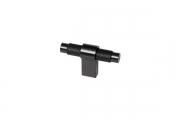 SY8772 0008 AL6-AL6 Ручка-кнопка, отделка черный матовый