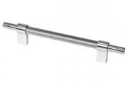 SY8772 0128 CR-CR Ручка-скоба 128мм, отделка хром глянец
