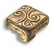 900.00.28 Ручка кнопка, цвет античное золото
