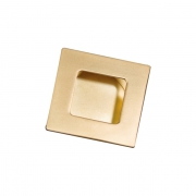 Ручка врезная, отделка золото глянец 183.35.GP