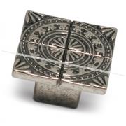 SPARTA Ручка-кнопка серебро состаренное A-1434.G35