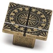 SPARTA Ручка-кнопка бронза состаренная A-1434.G4