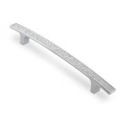 Ручка-скоба с кристаллами, 160мм, хром, 223*16*28 (Акрил) ACR08-160