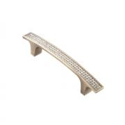 Ручка-скоба с кристаллами, 96мм, хром, 139*15*28 (Акрил) ACR08-96 BA