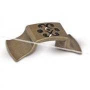 ARABIAN Ручка-кнопка 32мм бронза состаренная ARB.32.OL