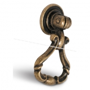 VICTA Ручка-капля бронза состаренная B-070.G4