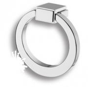 BU 013.55.07 Ручка кольцо, глянцевый хром