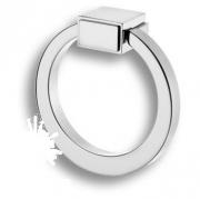 BU 013.80.07 Ручка кольцо, глянцевый хром