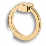 BU 013.80.19 Ручка кольцо, глянцевое золото