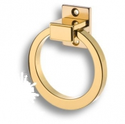 BU 013.80 CS 19 Ручка кольцо, глянцевое золото