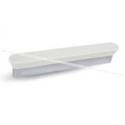 SALIX Ручка-скоба 128мм хром/белый C-3634.T1-G2