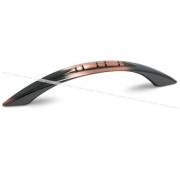 KOBRA Ручка-скоба 96мм медь патинированная C-663.G20