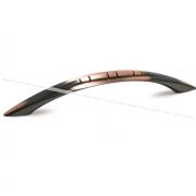 KOBRA Ручка-скоба 128мм медь патинированная C-664.G20
