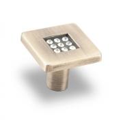 Ручка-кнопка, хром28*28*24 CRL03 BA