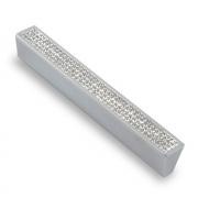 Ручка-скоба с кристаллами, 128мм, хром, 140*17*22 CRL06-128