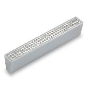 Ручка-скоба с кристаллами, 96мм, бронза, 108*14*22 CRL06-96