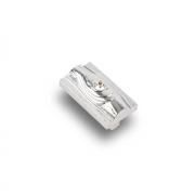 Ручка-кнопка с кристаллами, 48*28*26 мм, 32 мм. CRL15
