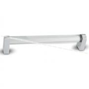 Ручка-рейлинг 192мм нерж. сталь/стекло прозрачное E20.0192.SSG