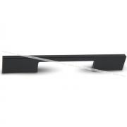 Ручка-скоба 224мм черный матовый G029.0224.MB