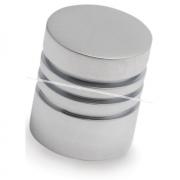 Ручка-кнопка D20мм хром матовый GA2708