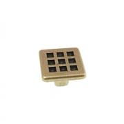 Ручка-кнопка бронза состаренная GG3005