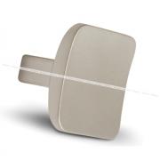Ручка-кнопка никель матовый GG4306