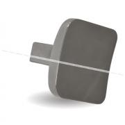Ручка-кнопка хром вулканический серый GG43VG