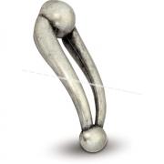 GIULIA Ручка-кнопка серебро состаренное GIU.AA