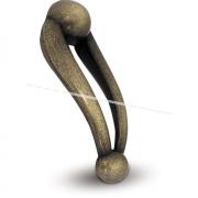 GIULIA Ручка-кнопка бронза Сфумато GIU.OI