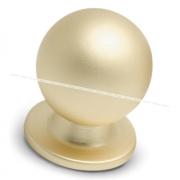 Ручка-кнопка D25мм золото матовое GN3203/MAT