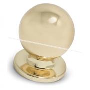 Ручка-кнопка D25мм золото GN3203