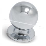 Ручка-кнопка D25мм хром GN3204