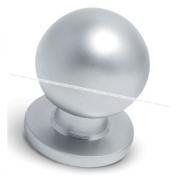 Ручка-кнопка D25мм хром матовый GN3208