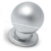 Ручка-кнопка D18мм хром матовый GN3408