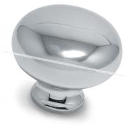 Ручка-кнопка D32мм хром GP1604