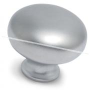 Ручка-кнопка D32мм хром матовый GP1608