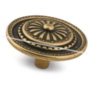 Ручка-кнопка D45мм бронза состаренная GR1305