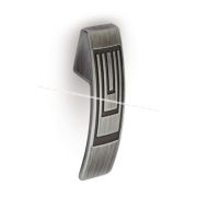 Ручка-кнопка серебро полированное GR2709