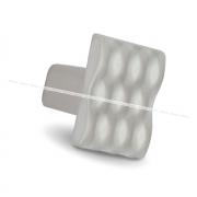 WAVE Ручка-кнопка никель матовый GU4006